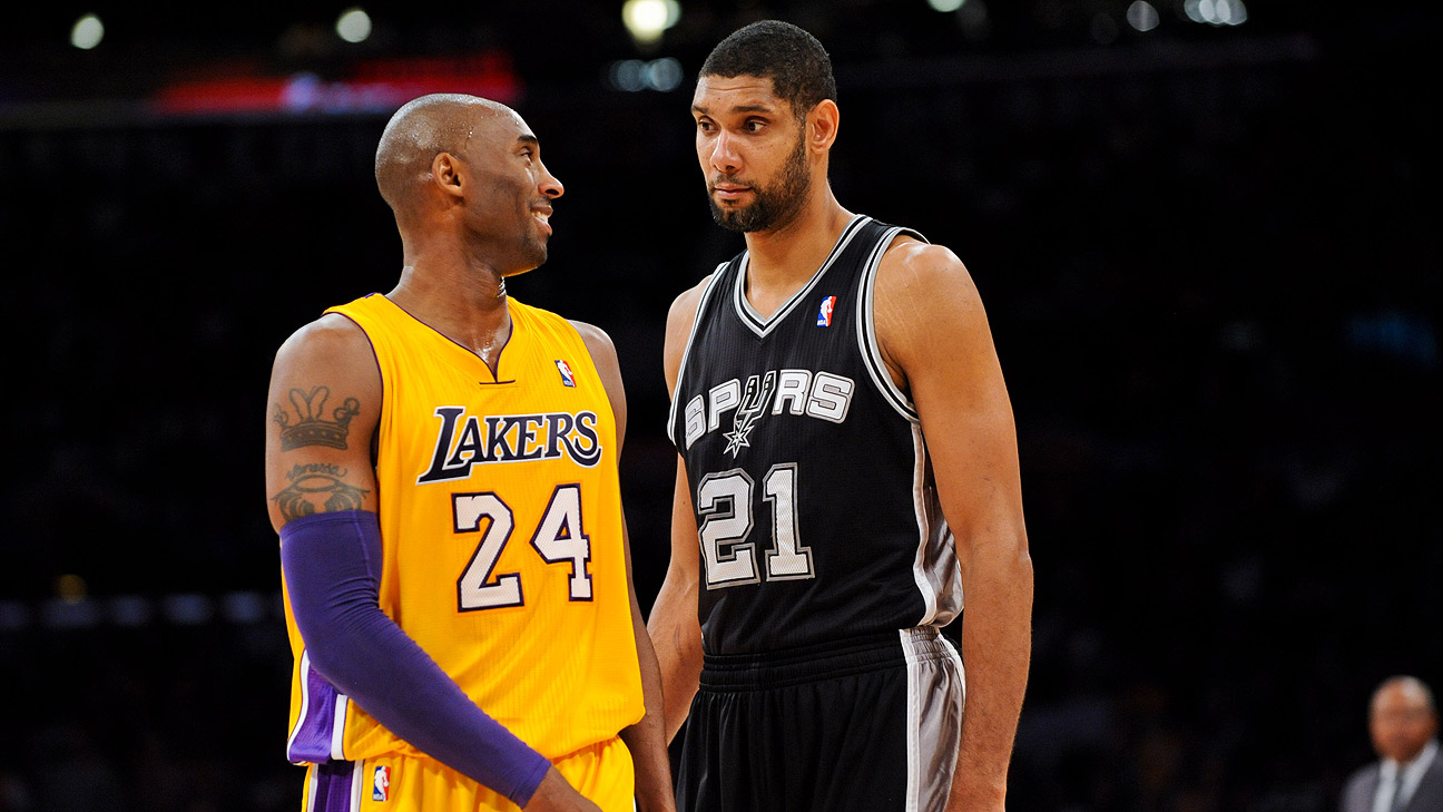 Kobe vs. Duncan. Let Us Lay This To Rest
